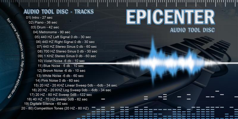 Download] EPICENTER - Audio Tool Disc - Bass Test CD - Musik Talk