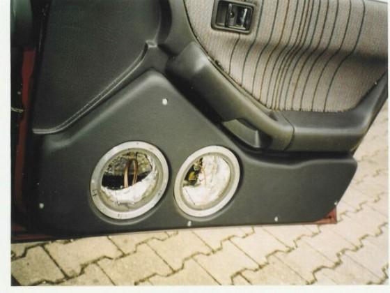 User Stempsy - Einbau Mazda 232 Sommer 2004