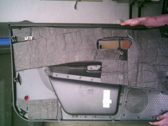User EPICENTER - Kofferraum und Türeinbau